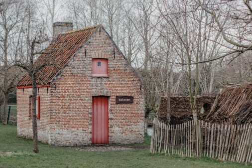 At the farm near Brugge, Belgium