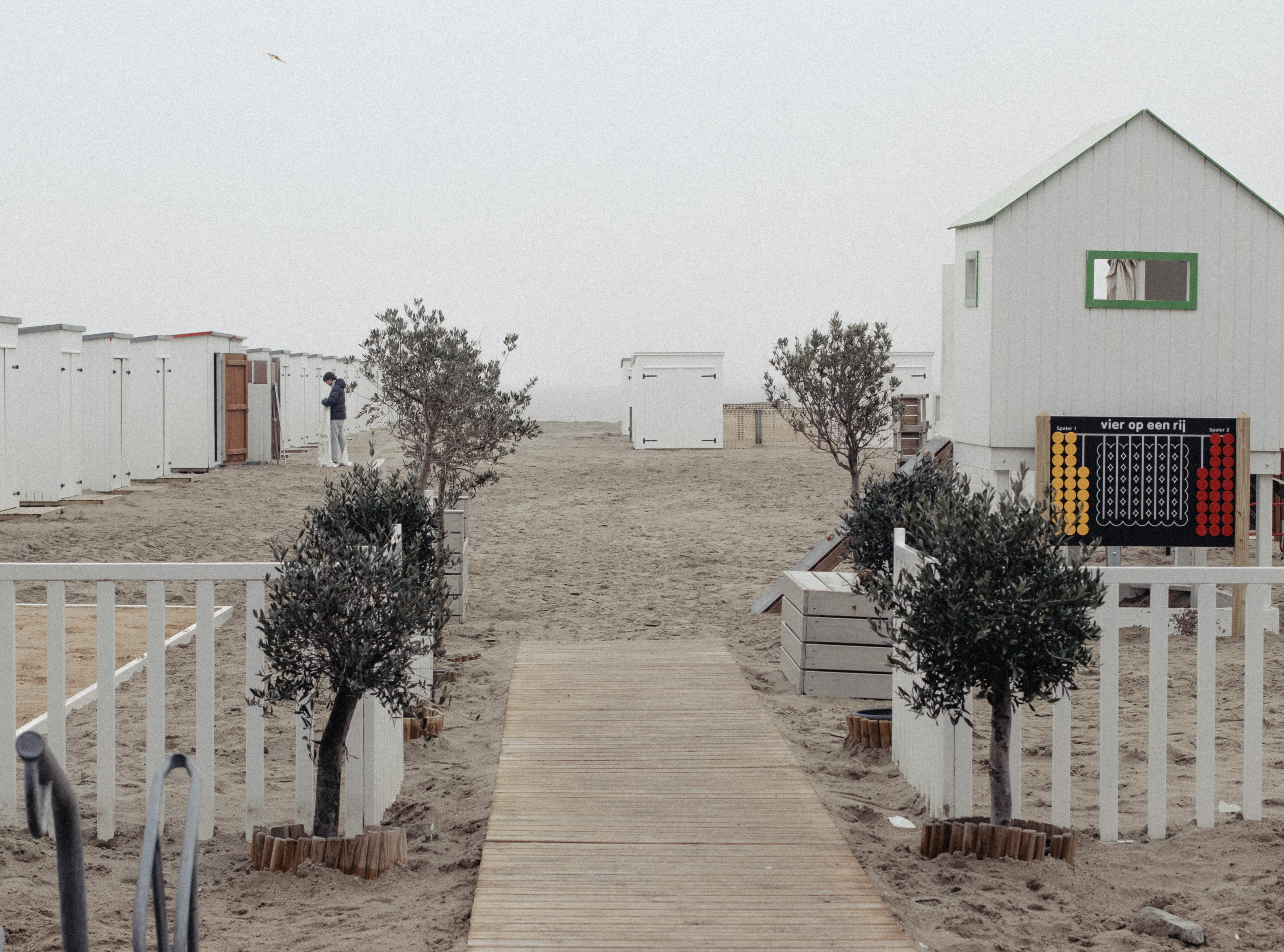 Plage de Knokke in Knokke-Heist, Belgium