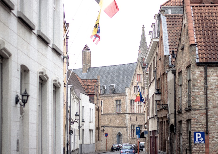 From our trip in Bruges, Belgium.